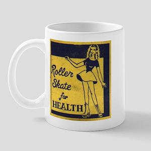 Roller Skate for Health Mug
