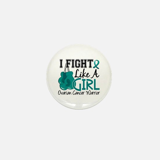 Licensed Fight Like A Girl 15.2 Ovaria Mini Button