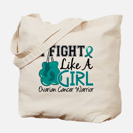 Licensed Fight Like A Girl 15.2 Ovarian C Tote Bag