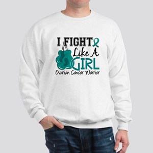 Licensed Fight Like A Girl 15.2 Ovarian Sweatshirt