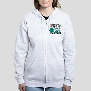 Licensed Fight Like A Girl 15.2 Women's Zip Hoodie