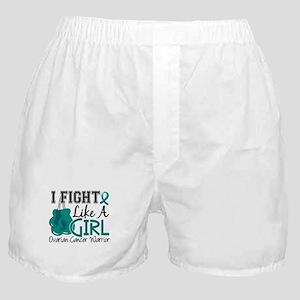 Licensed Fight Like A Girl 15.2 Ovari Boxer Shorts