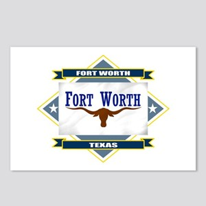 Fort Worth Flag Postcards (Package of 8)