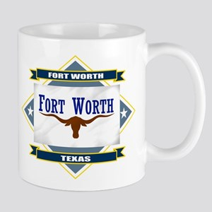 Fort Worth Flag Mug
