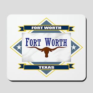 Fort Worth Flag Mousepad