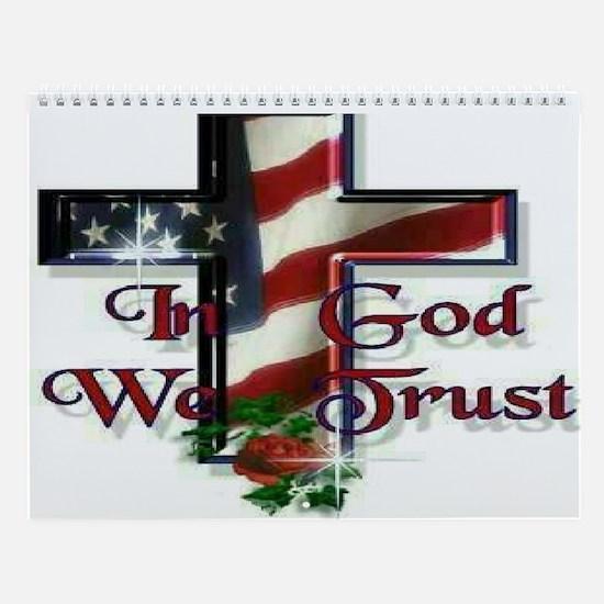 In God We trust Wall Calendar