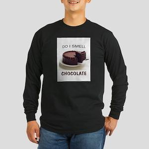 SMELLS DELICIOUS Long Sleeve Dark T-Shirt