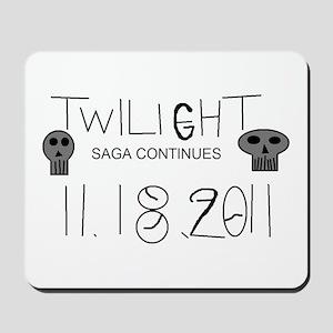Twilight Saga Continues Mousepad
