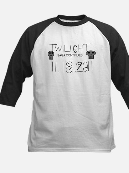 Twilight Saga Continues Kids Baseball Jersey
