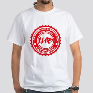 Made in Frisco - Red on White T-Shirt