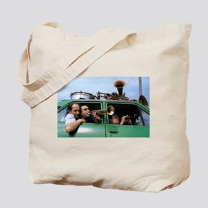 Traveling Band Tote Bag
