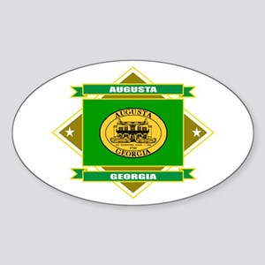 Augusta Flag Sticker (Oval)