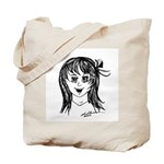 Anime Styled Characters Tote Bag