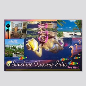 Sunshine Luxury Suite Postcards (Package of 8)