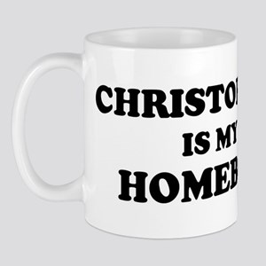 Christopher Is My Homeboy Mug
