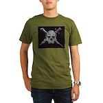 Pirate Organic Men's T-Shirt (dark)