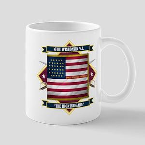 6th Wisconsin V.I. Mug