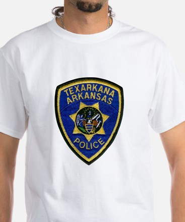 Texarkana Police White T-Shirt