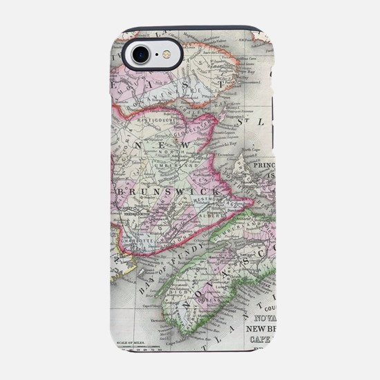 Vintage Nova Scotia and New Br iPhone 7 Tough Case