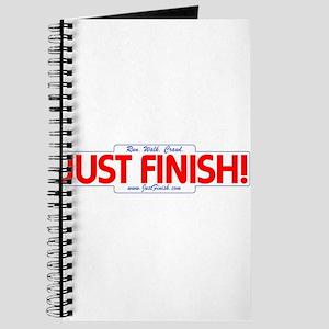 Run. Walk. Crawl. JUST FINISH Journal