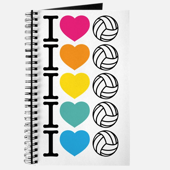 I Heart Volleyball Journal