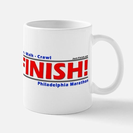 Cute Philadelphia marathon Mug