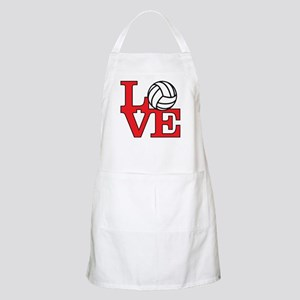 Volleyball Love - Red Apron