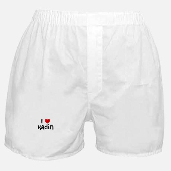 I * Kadin Boxer Shorts