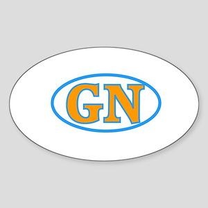 GN Sticker (Oval)