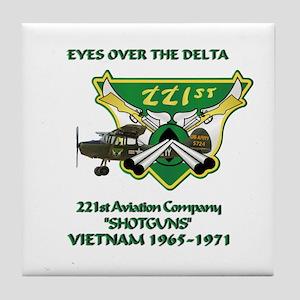 221st RAC Tile Coaster