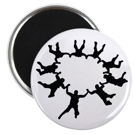 "Skydiving 2.25"" Magnet (10 pack)"