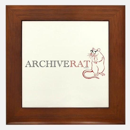Archive Rat (V3) Framed Tile