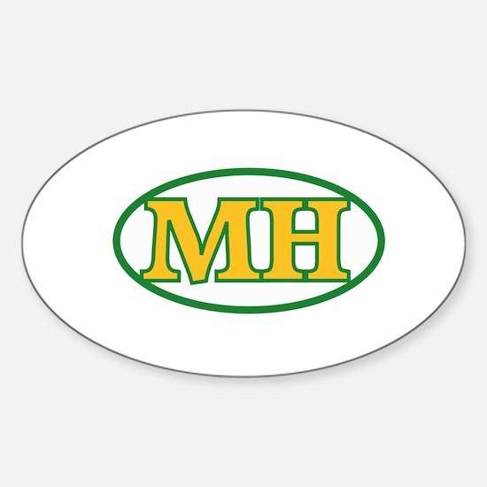 MH Sticker (Oval)