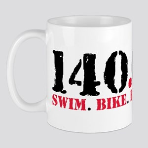 140.6 Swim Bike Run Mug