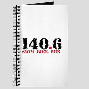 140.6 Swim Bike Run Journal