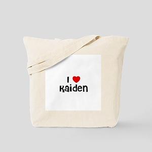 I * Kaiden Tote Bag