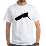 Wakeboarding White T-Shirt