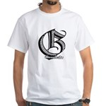 Groundfighter G series #1 White T-Shirt