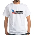American Groundfighter White T-Shirt