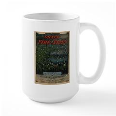 Dance of the Fire-Flies Large Mug