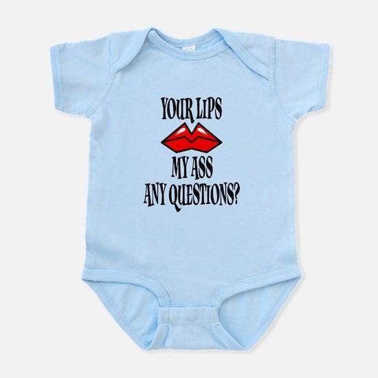 Kiss My Ass Infant Bodysuit
