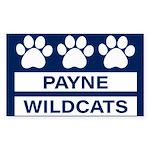 Payne Wildcats Sticker