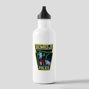 Bemidji Police Stainless Water Bottle 1.0L