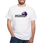 Australian Fighter White T-Shirt