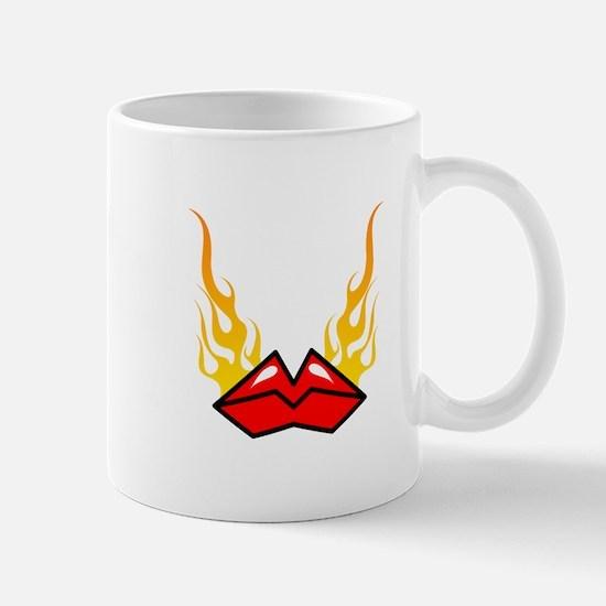 Flaming Hot Lips Mug