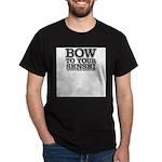 Bow to your Sensei Dark T-Shirt