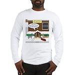 Live Yard Nativity Long Sleeve T-Shirt
