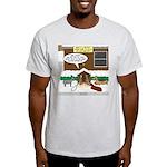 Live Yard Nativity Light T-Shirt