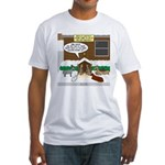 Live Yard Nativity Fitted T-Shirt