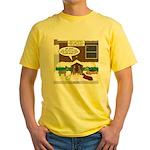 Live Yard Nativity Yellow T-Shirt